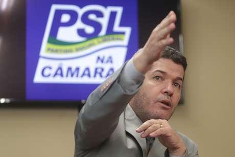 O líder do PSL na Câmara, Delegado Waldir (PSL-GO)
