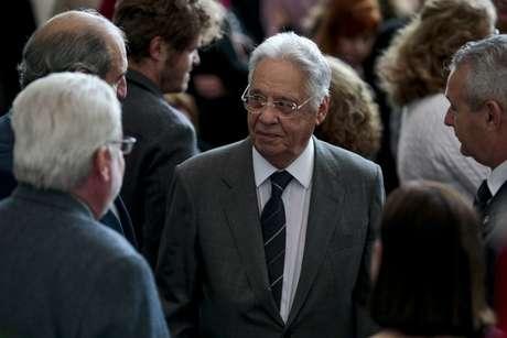 O ex-presidente Fernando Henrique Cardoso (PSDB) lança o quarto e último volume de seus Diários da Presidência
