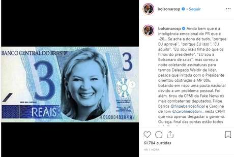 Resultado de imagem para Joice Hasselmann Bolsonaro: