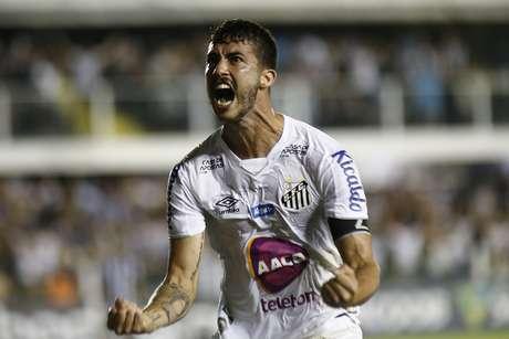 Gustavo Henrique marcou o gol da vitória santista.