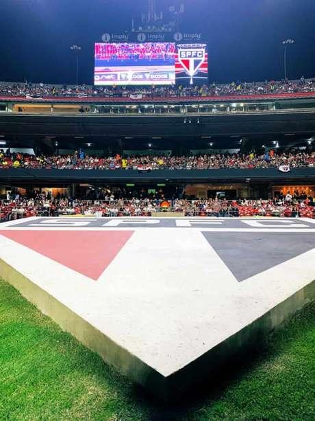 Morumbi receberá a partida do Tricolor neste domingo - FOTO: Reprodução Twitter do São Paulo