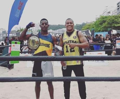 Ygor Silva será uma das atrações principais do BeachBoxing em Copacabana (Foto: Divulgação)