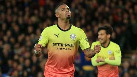 Jesus abriu o placar da vitória (Foto: Divulgação/Manchester City)