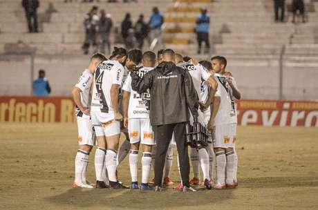Ponte e Bragantino ficaram no 1 a 1 em Campinas (Foto: Reprodução)