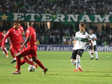 No 1º turno, o Coxa venceu por 2 a 0 no Couto Pereira (Foto: Divulgação/CFC)