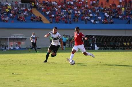 Coritiba saiu perdendo por 2 a 0 e buscou o empate no fim (Foto: Divulgação/Vila Nova)