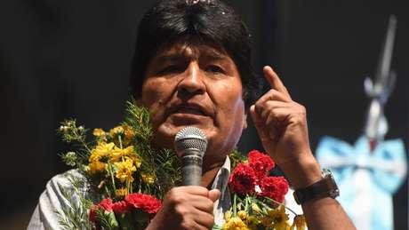 Evo Morales vai disputar seu quarto mandato consecutivo