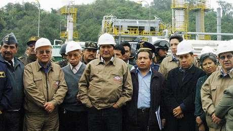 Em 2006, Evo Morales decretou nacionalização dos hidrocarbonetos da Bolívia e renegociou os contratos com as petroleiras