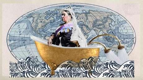 """As tendências anglo-americanas de banheiros são tão difundidas que, na década de 1920, foram apelidadas de """"imperialismo sanitário"""""""
