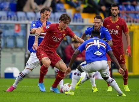 Roma fica no empate com a Sampdoria (Foto: Divulgação/Roma)