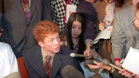 Webb Haymaker, em 1994; sua família também foi profundamente impactada pela morte de Yoshi