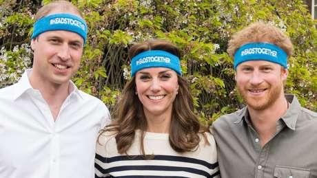 Os irmãos anteriormente fizeram campanha juntos para ajudar a conscientizar e promover um debate público sobre saúde mental
