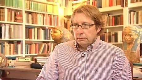 Professor Dirk Obbink é um dos principais especialistas em clássicos do mundo