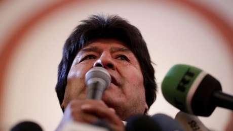 'Tenho certeza de que vamos continuar garantindo esse processo de mudanças com os votos da área rural', disse o presidente Evo Morales