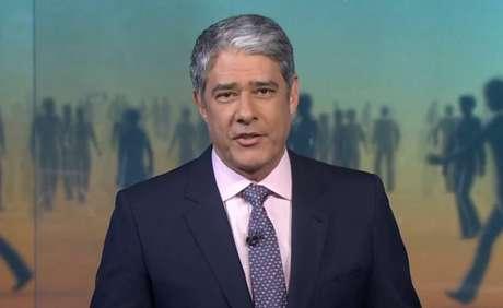 William Bonner no 'Jornal Nacional'