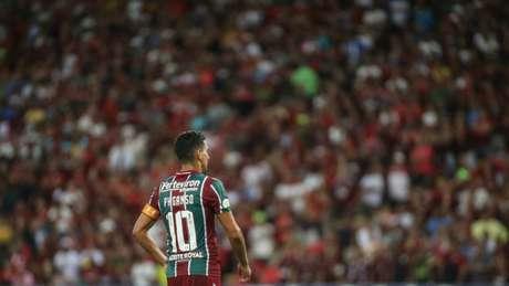 Ganso foi novamente vaiado pela torcida do Fluminense (Foto: Lucas Merçon/Fluminense)