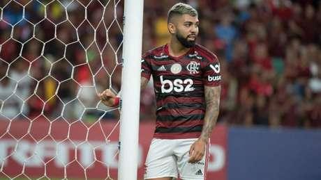 Gabigol cutucou imprensa em resposta na zona mista (Alexandre Vidal/ Flamengo)