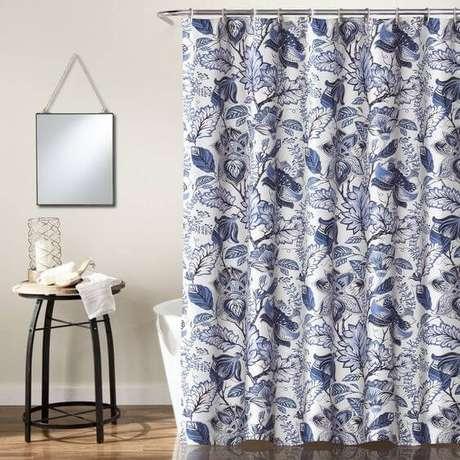 31. São muitas as opções de cortina para banheiro. Foto: Totally Furniture