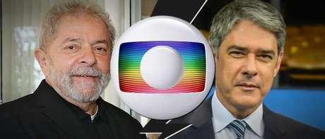 Lula deixa explícito o desejo de confrontar Bonner e a Globo pela cobertura jornalística de seus processos na Justiça