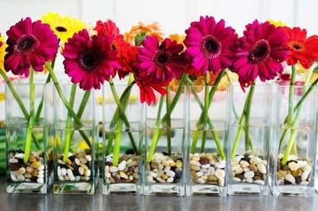 7. As gérberas são plantas que purificam o ambiente. Fonte: Pinterest