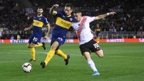 Boca Juniors e River decidem vaga na final da Libertadores de 2019, nesta terça-feira (Gustavo Ortiz/Lancepress!)