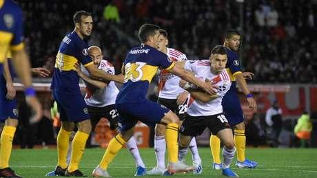 River venceu o Boca por 2 a 0, na ida, no Monumental (Gustavo Ortiz/Lancepress!)