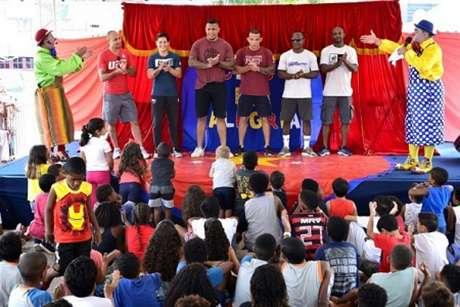 Evento em comemoração ao Dia das Crianças foi um grande sucesso em Itaboraí, no Rio (Foto: Divulgação)