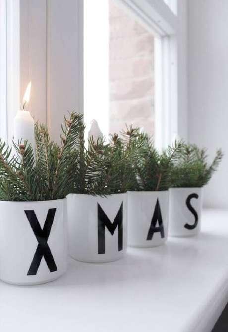 19. Enfeites de natal para decoração clean e moderna. Foto: ThaiTicketMajor
