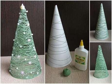 21. Faça você mesmo seus enfeites de natal. Foto: The Holk