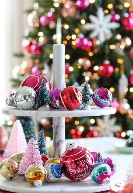 69. Decoração criativa para o natal. Foto: The Holk