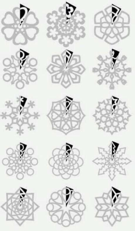 78. Mode de flocos de neve para fazer decoração de natal. Foto: I Love Hobby