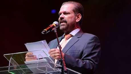 Reinaldo Carneiro Bastos, presidente da FPF