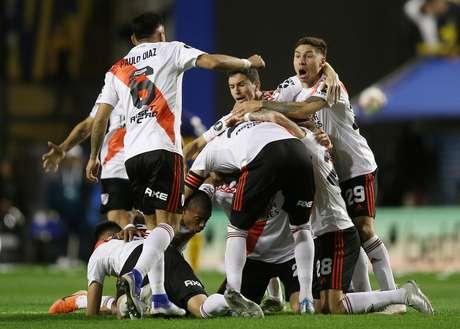 River Plate, da Argentina, é o rival do Flamengo na final da Libertadores