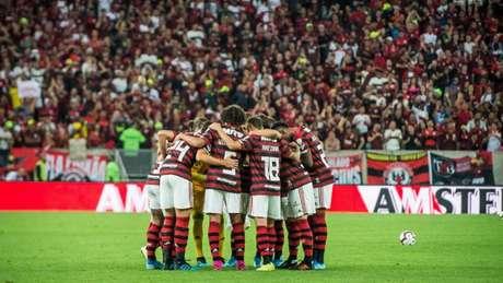Sinergia entre torcida e time é trunfo do Flamengo no Maracanã (Foto: Alexandre Vidal/Flamengo)