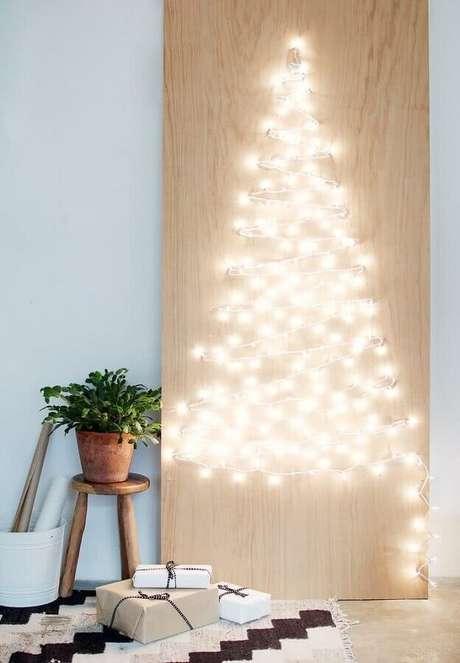 4. Invista no DIY para a sua decoração natalina simples – Foto: Apartment Therapy