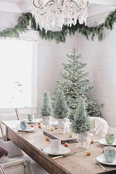 54. Decoração natalina com estilo escandinavo – Foto: Killy our scene