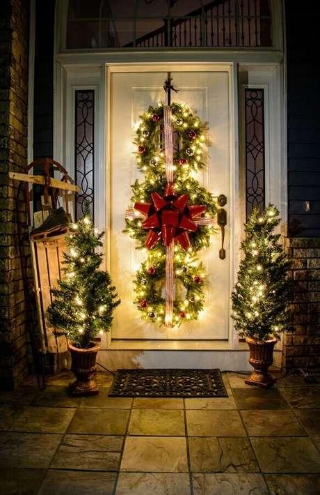 58. Linda ideia para decoração natalina para casas – Foto: Roomodeling