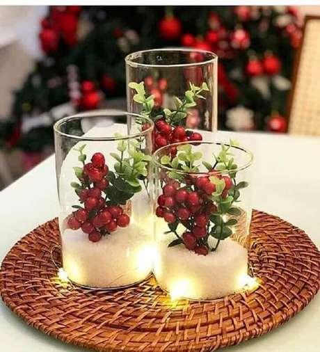 73. Enfeite simples para decoração natalina – Foto: Pinterest