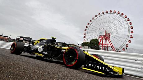 Renault foi desclassificada do GP do Japão (Foto: Reprodução)