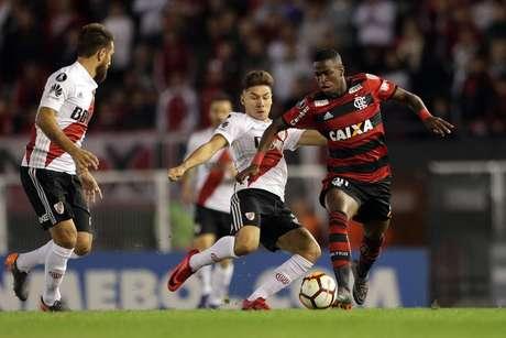 Duelo River x Flamengo pela Libertadores de 2018