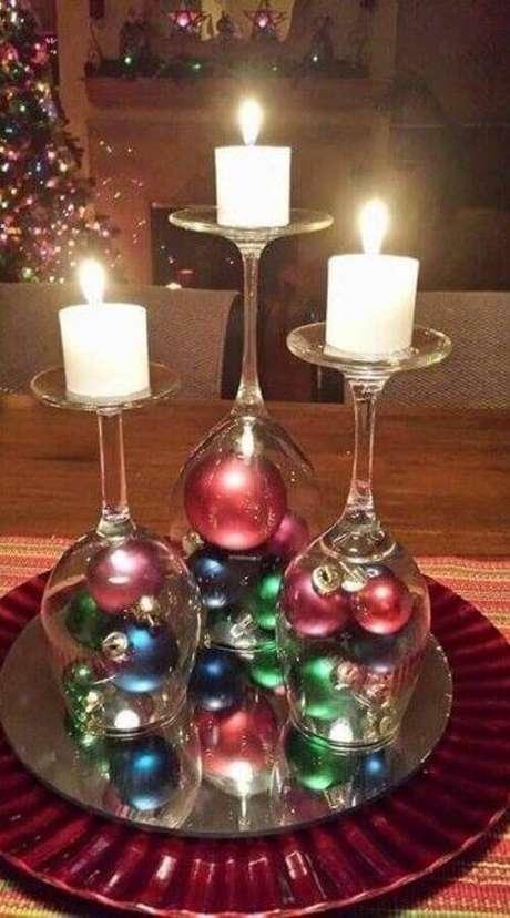 86. Ideias para decoração natalina simples – Foto: MymArte
