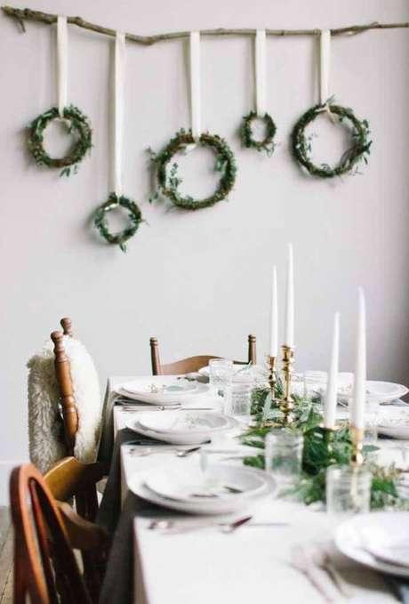 68. Mesa de natal decorada – Por: Decor Fácil