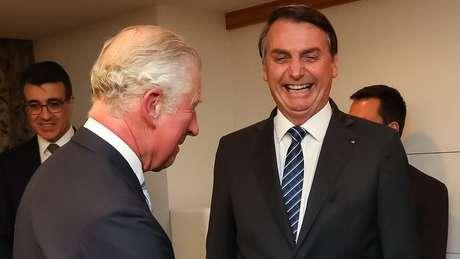 Príncipe Charles e presidente Bolsonaro se encontram no Japão durante entronização de imperador japonês