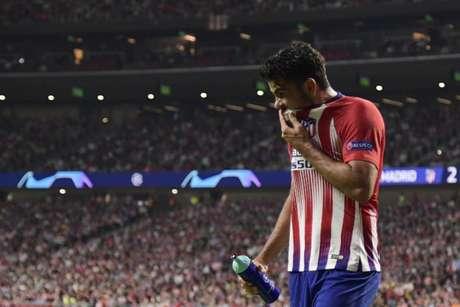 Simeone quer descansar Diego Costa (Foto: Javier Soriano/ AFP)