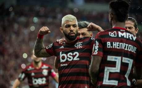 Gabigol marcou duas vezes na goleada (Alexandre Vidal / Flamengo)