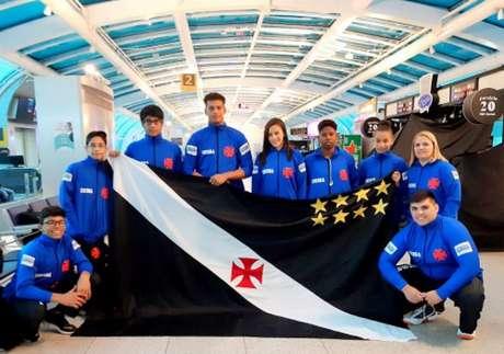Equipe Umbra/Vasco terá sete atletas em ação no torneio que acontece em Canoas (RS) (Foto: Reprodução)