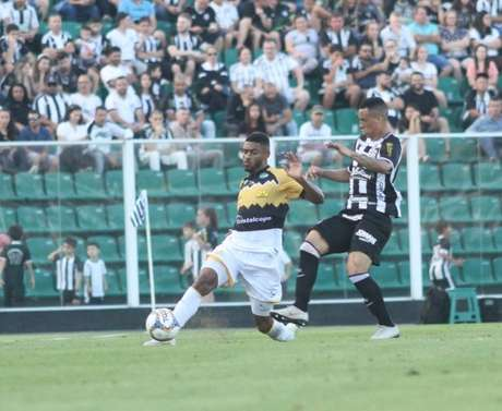 Criciúma e Figueirense empataram no Orlando Scarpelli (Foto: Reprodução)