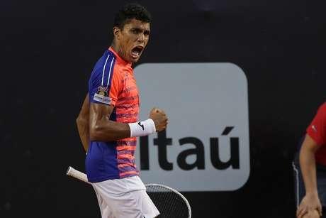 Thiago Monteiro se firmou no top 100 do mundo com o título em Lima (Foto: fotojump/Divulgação)