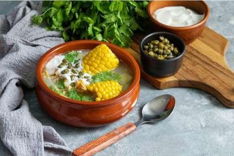 Ajiaco: sopa típica colombiana
