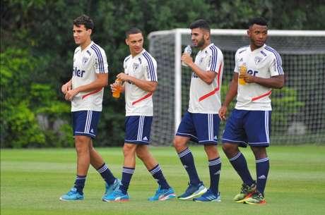 Luan, Liziero, Igor Gomes e Antony:32 minutos juntos desde jogo no Allianz(Antônio Cícero/Photo Press/Lancepress!)